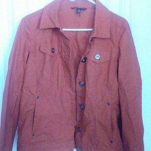 Med Orange Jacket